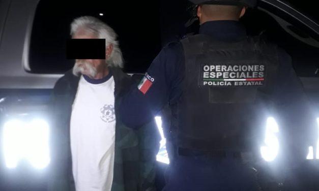 SEXAGENARIO FUE DETENIDO POR ELEMENTOS DE LA SSPE CON DROGA CRYSTAL