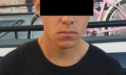 PRESUNTO DISTRIBUIDOR DE DROGA, FUE DETENIDO EN EL MUNICIPIO DE PABELLÓN DE ARTEAGA