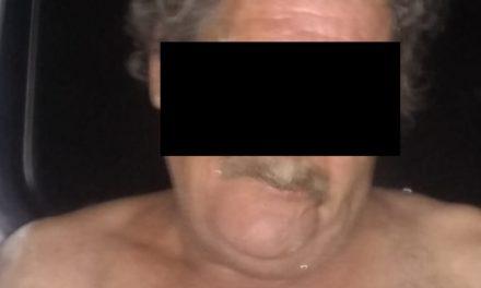 POR DAÑOS Y ALLANAMIENTO DE MORADA, FUE DETENIDO EN EL MUNICIPIO DE CALVILLO