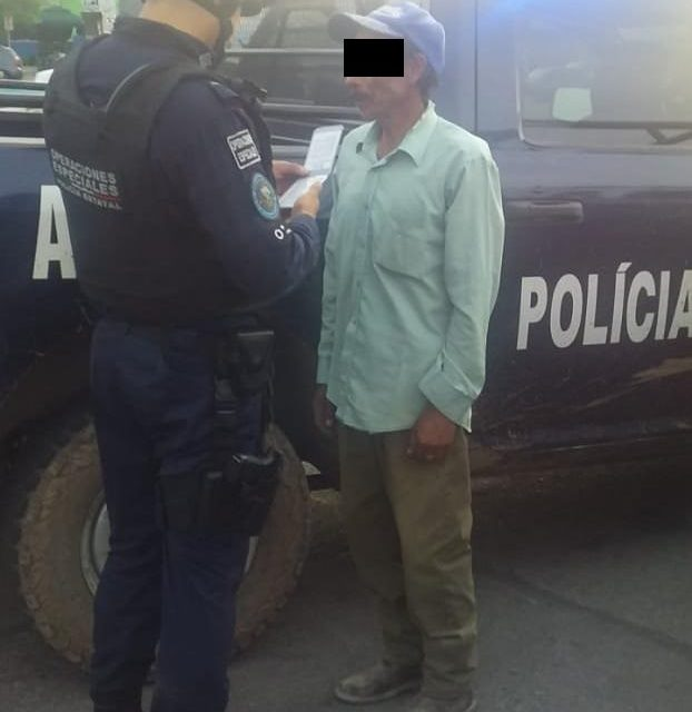 SUJETO ACUSADO DE HABER AMENAZADO Y GOLPEADO A SU EXPAREJA SENTIMENTAL, FUE DETENIDO EN EL MUNICIPIO DE COSÍO