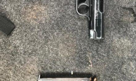 CAPTURAN POLICÍAS ESTATALES A SUJETO ARMADO AL SUR DE LA CIUDAD
