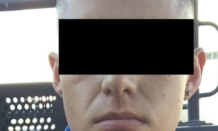 SUJETO EN POSESIÓN DE DROGA CRYSTAL FUE DETENIDO EN PABELLÓN DE ARTEAGA