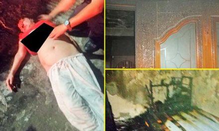 ¡Mujer con problemas de salud mental incendia su casa con la intención de suicidarse!