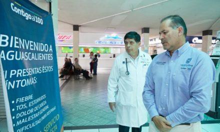 ¡Supervisa Martín Orozco acciones de prevención en el Estado para evitar casos de coronavirus!