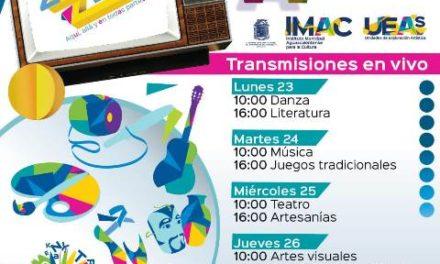 ¡Municipio invita a disfrutar talleres culturales gratuitos por internet!