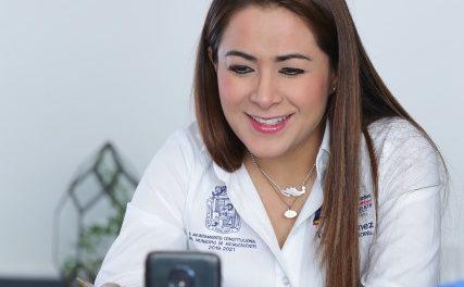 ¡Tere Jiménez entregará alimentos a sectores vulnerables durante contingencia sanitaria!