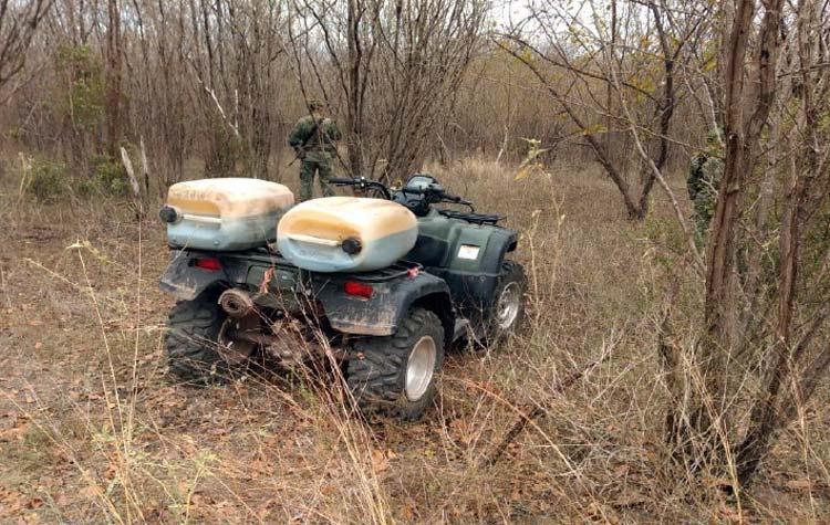 ¡Ejército Mexicano aseguró droga en Sinaloa y Sonora!