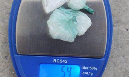 SUJETO EN POSESIÓN DE DROGA FUE DETENIDO EN PABELLÓN DE ARTEAGA