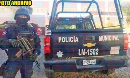 ¡Policías Municipales de Lagos de Moreno sufren agresión armada por unos delincuentes!