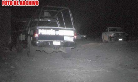 "¡Policías estatales de Zacatecas descubren a sicarios ""sembrando"" 2 ejecutados en Río Grande!"