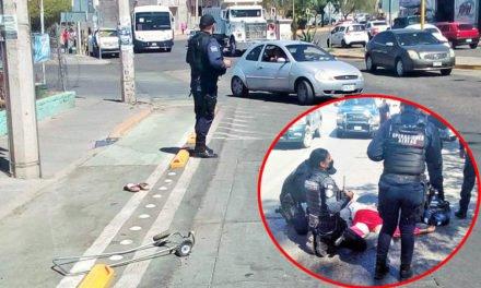 ¡Mujer murió brutalmente atropellada por un automóvil en Aguascalientes!