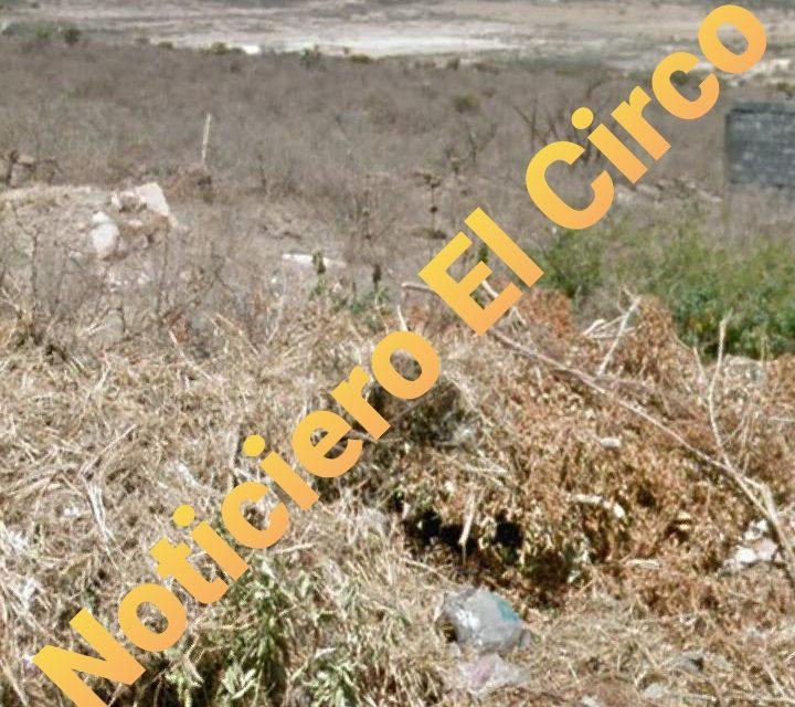 ¡Hallan a una persona ejecutada en el Cerro de Las Antenas en Lagos de Moreno!