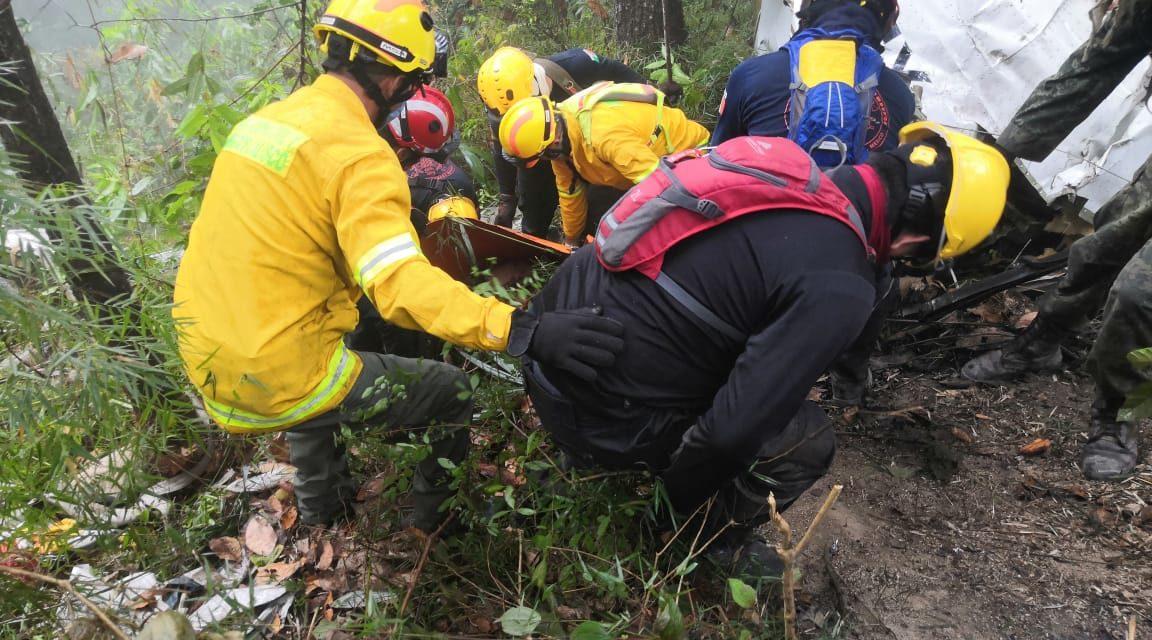 ¡Recuperan los cuerpos sin vida de Adrián Ventura y demás tripulación en Puerto Vallarta!