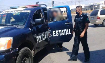 POLICÍAS ESTATALES BRINDARON APOYO DE TRASLADADO A UNA PERSONA AFECTADA POR PICADURA DE ALACRÁN