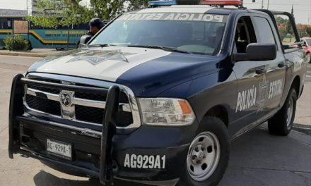 ASEGURAN ELEMENTOS DE LA POLICÍA ESTATAL CAMIONETA CON ALTERACIONES EN EL  NÚMERO DE MOTOR