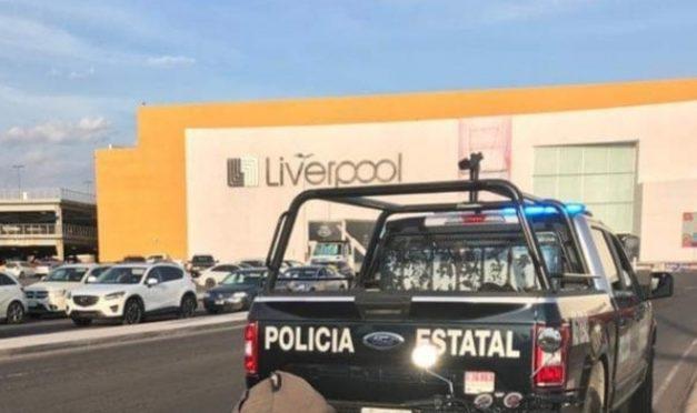 MUJER SEÑALADA POR ROBO FARDERO, FUE DETENIDA POR ROBO FARDERO EN EL CENTRO COMERCIAL ALTARIA