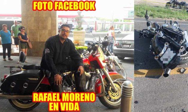 ¡Muere en lamentable accidente el conocido abogado Rafael Moreno en Aguascalientes!