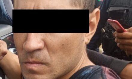 ELEMENTOS DE LA SSPE LLEVARON A CABO LA DETENCIÓN DE UN MOTOCICLISTA EN POSESIÓN DE DROGA