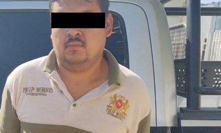 TRAS HABER SIDO SEÑALADO POR GOLPEAR A SU EXPAREJA SENTIMENTAL, SUJETO FUE DETENIDO EN EL MUNICIPIO DE COSÍO