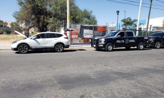 POLICÍAS ESTATALES ASEGURARON UN VEHÍCULO QUE PRESENTABA ALTERACIONES EN EL NÚMERO DE SERIE