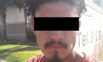 SUJETO EN POSESIÓN DE DROGA CRYSTAL FUE DETENIDO POR LA POLICÍA ESTATAL