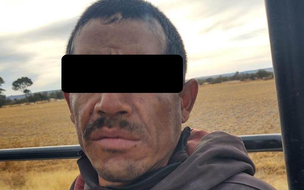 CAPTURAN A PRESUNTO VENDEDOR DE DROGA CON 15 ENVOLTORIOS CON CRYSTAL