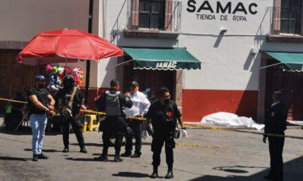 Ejecutan a un hombre frente a cientos de turistas en el Centro Histórico de Zacatecas