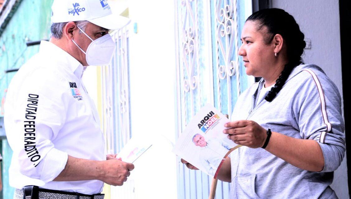 Habitantes de Cosío, Rincón de Romos y San Francisco de los Romo respaldan el proyecto del Arqui Noel