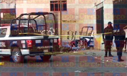 ¡Ejecutan a un hombre e hirieron a otro en el Barrio del Panteón en Lagos de Moreno!