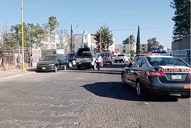 DE ULTIMA HORA: Ejecutan dos hombres y una mujer en Pilar Blanco en Aguascalientes