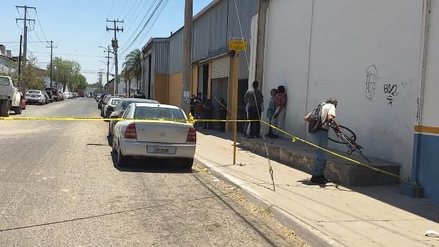 ¡Empleado murió al caerle en la cabeza un tanque de gas en una empresa en Ciudad Industrial en Aguascalientes!