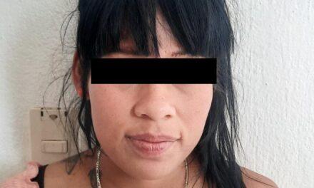 MUJER EN POSESIÓN DE DROGA CRISTAL, FUE DETENIDA EN RINCÓN DE ROMOS