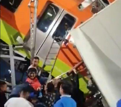 DE ULTIMA HORA: Sube el saldo del accidente de la Línea 12 del Metro a 20 personas muertas y 49 heridos