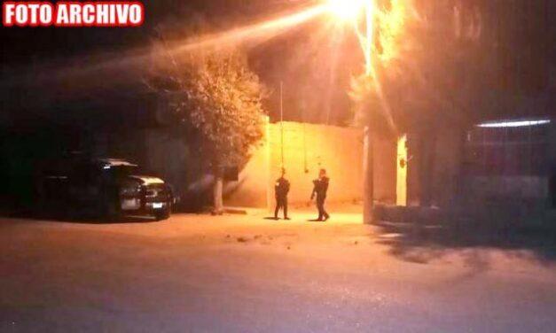 ¡En la comunidad Plenitud, en Fresnillo, ejecutaron a un hombre!