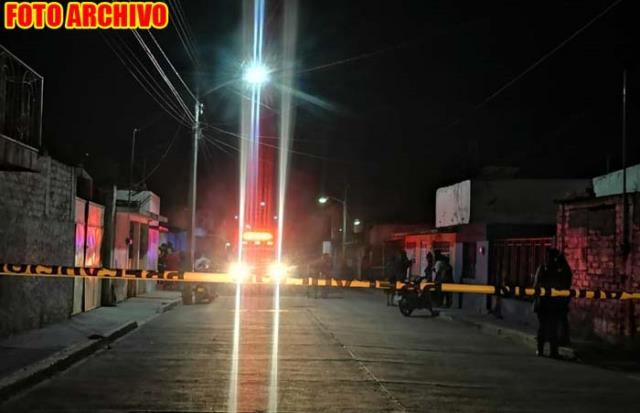 ¡Hombre fue ejecutado en un domicilio de la zona Centro de Enrique Estrada!