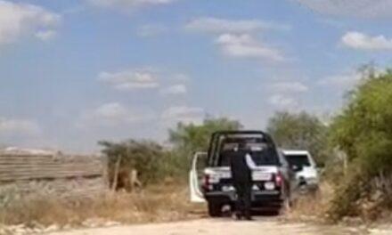 ¡A un lado del panteón hallaron a dos hombres ejecutados en Calera!