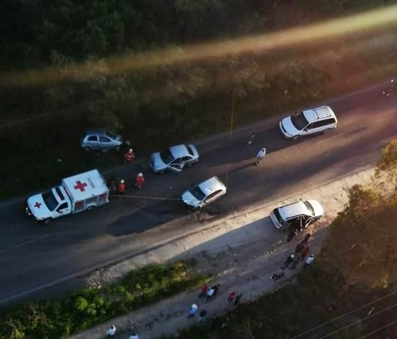¡Choque en Los Azulitos, Jalisco, dejó 1 niño muerto y otras 3 personas lesionadas!