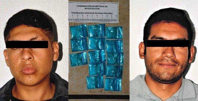 ¡Dos sujetos detenidos con un arma de fuego y droga en La Chona fueron vinculados a proceso!
