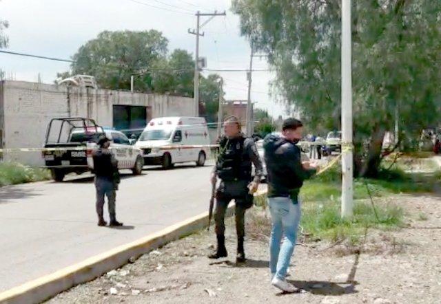 ¡En un yonke ejecutaron a un hombre e hirieron a otro en Guadalupe!