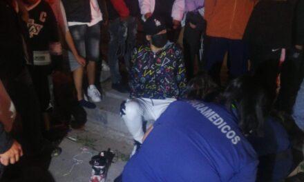 ¡Adolescente participó en una riña en Aguascalientes y fue herido de un balazo!