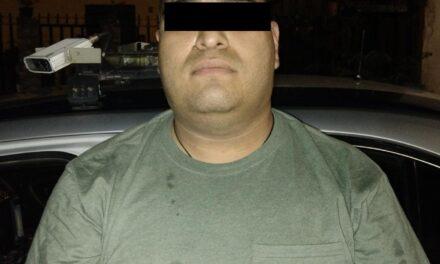 """""""EL GORDO"""" FUE DETENIDO CON UN ARMA DE FUEGO EN CALVILLO"""