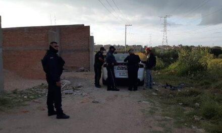 ¡En un predio en construcción en Aguascalientes joven se quitó la vida ahorcándose!