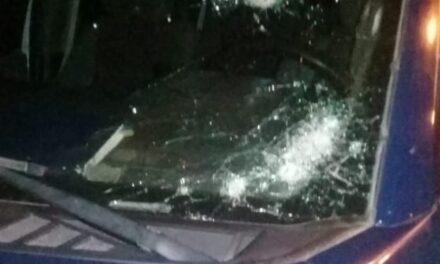 ¡En Villa de Cos atacaron a balazos a elementos de la PEP y un oficial resultó lesionado!