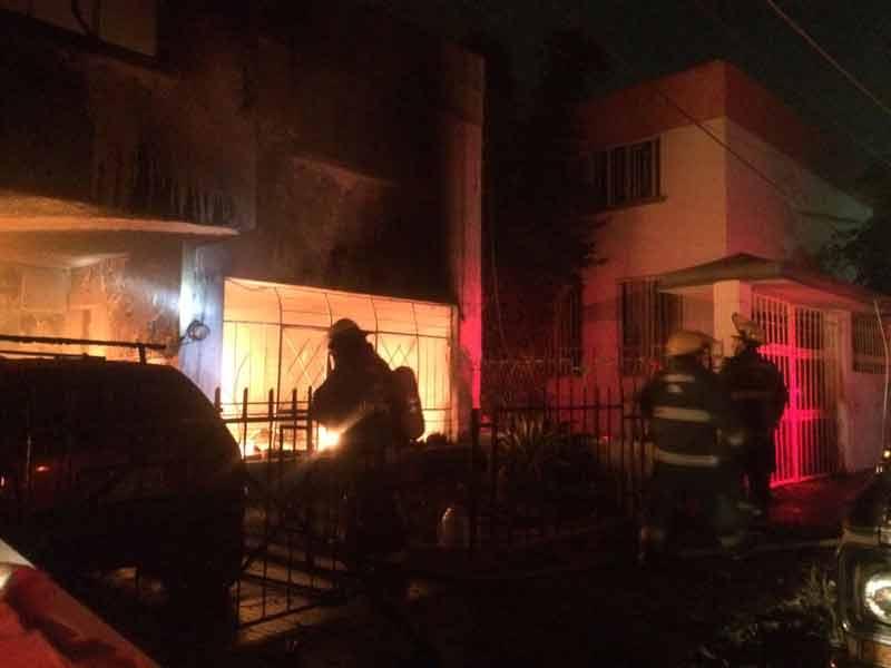 ¡9 muertos y 1 lesionado grave tras un incendio en una casa en Guadalajara!