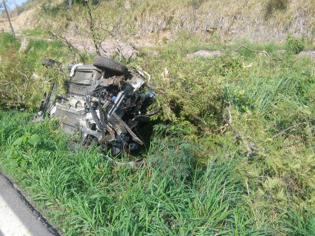 ¡Familia de Aguascalientes sufre accidente en la carretera a Tamazula, Jalisco, y murió un bebé de un año!