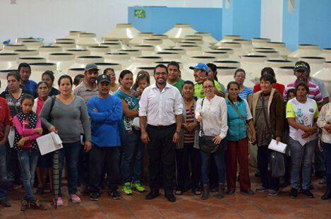 ¡Gestiones del Regidor Alfonso Jurado permite bajar apoyos para familias de Jesús María!