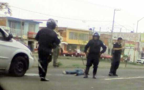 ¡Alcoholizada mujer atropellada casi frente al Hospital de la Mujer en Aguascalientes!