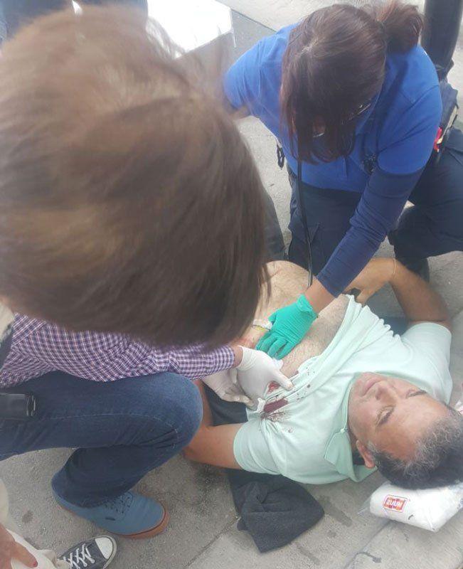 ¡Padre de familia fue baleado al resistirse a ser asaltado en Aguascalientes!