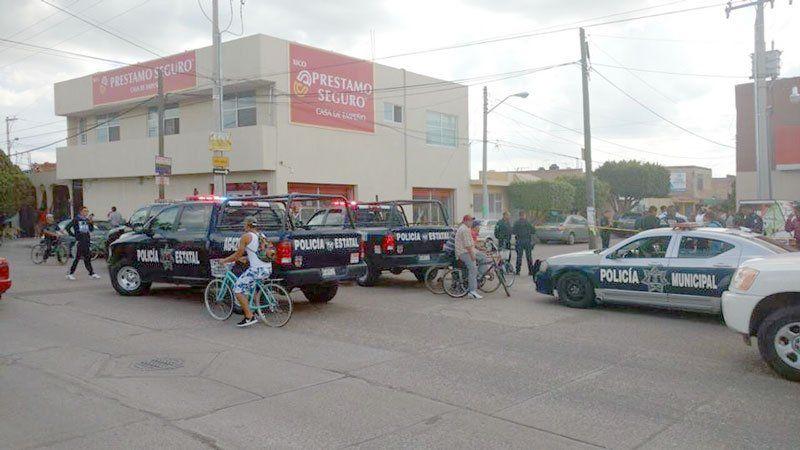 ¡Balean a repartidor de pilas en Aguascalientes!