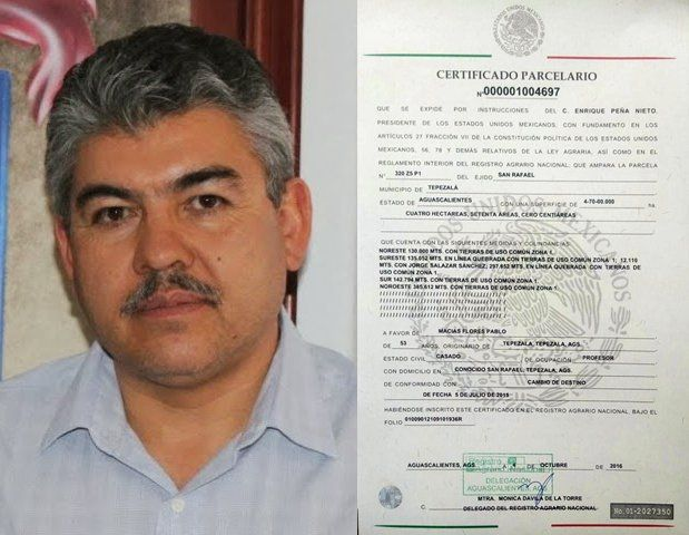 ¡Ex alcalde priísta de Tepezalá se apropía del terreno del Observatorio Astronomico!